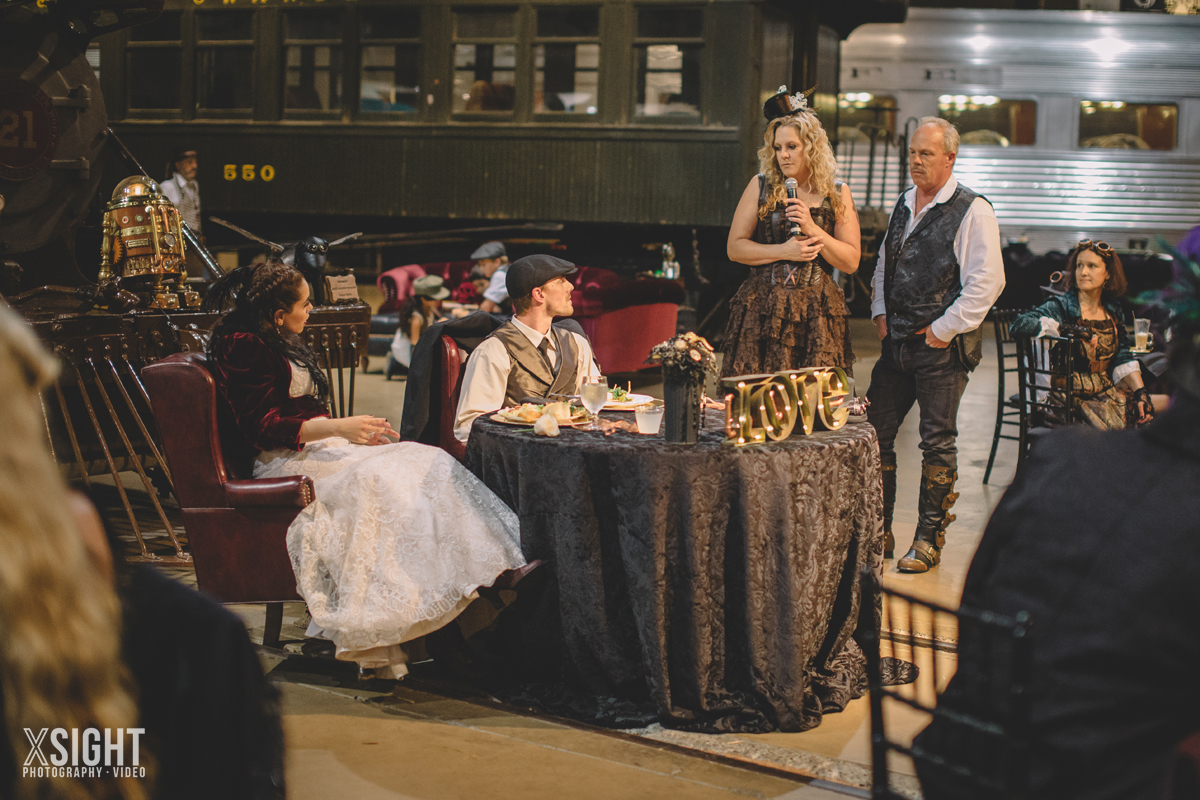 Dana & John's Steampunk Wedding in Old Sacramento - XSIGHT